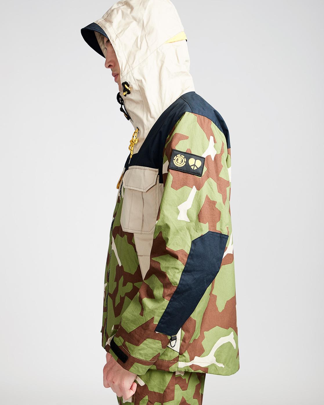 2 Griffin Alder Camp - Jacket for Men Camo N1JKB7ELP9 Element