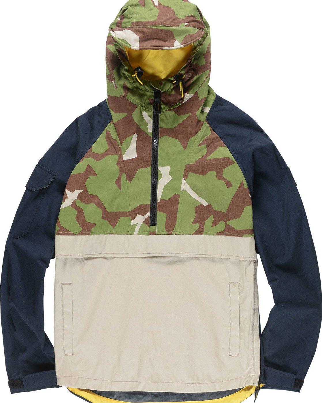 1 Griffin Anorak - Jacket for Men Camo N1JKC3ELP9 Element
