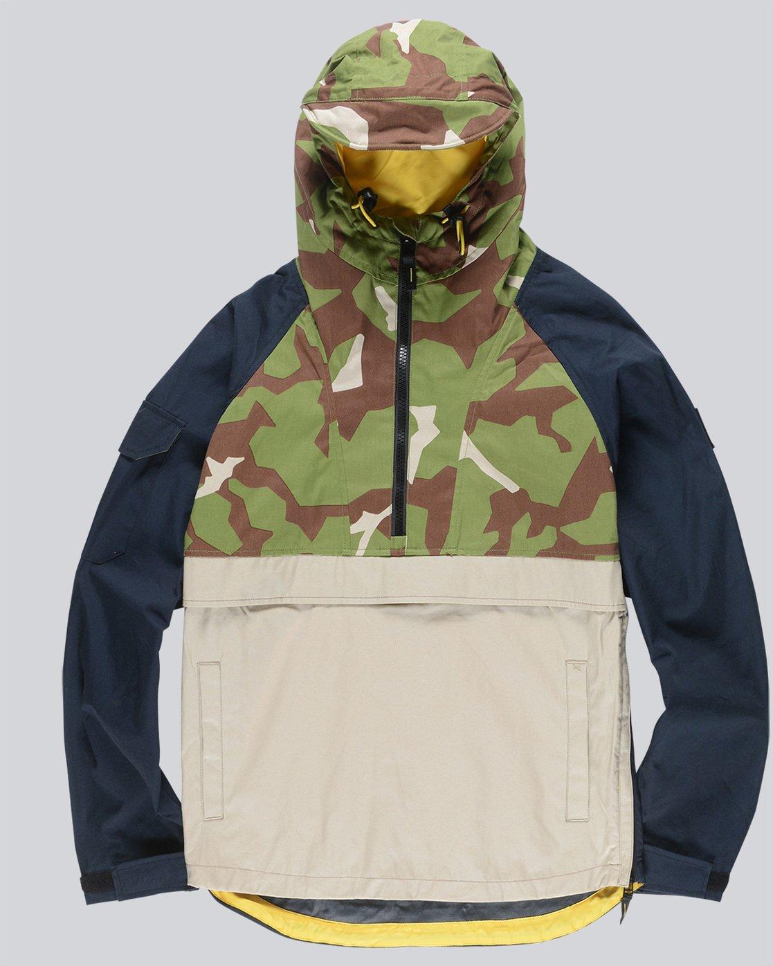 0 Griffin Anorak - Jacket for Men Camo N1JKC3ELP9 Element