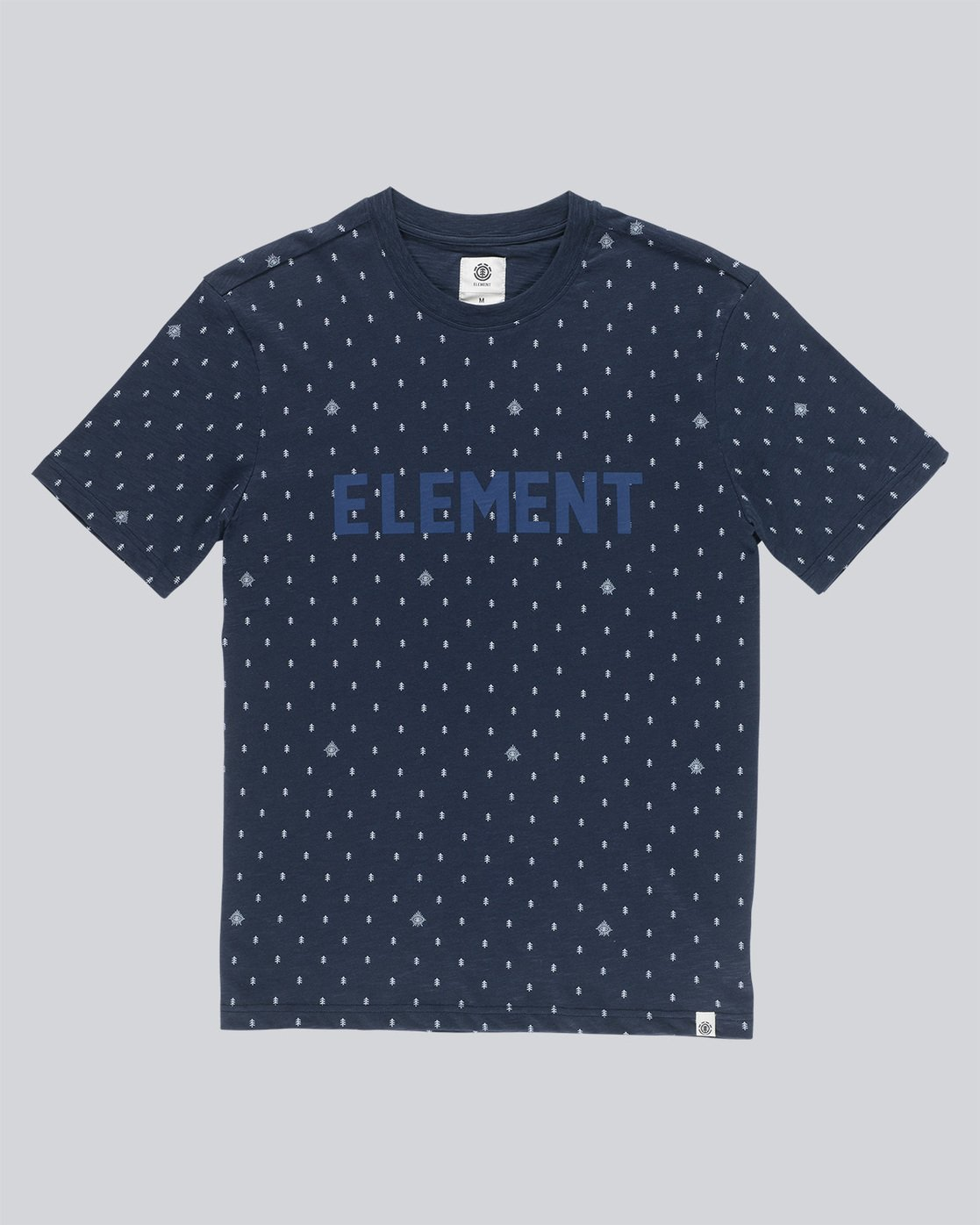 3 Kenny Ss Crew - Knit for Men Blue N1KTB1ELP9 Element