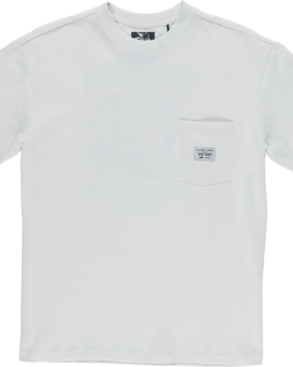 6 Timber Heavy Ss Tee - Knit for Men White N1KTC5ELP9 Element