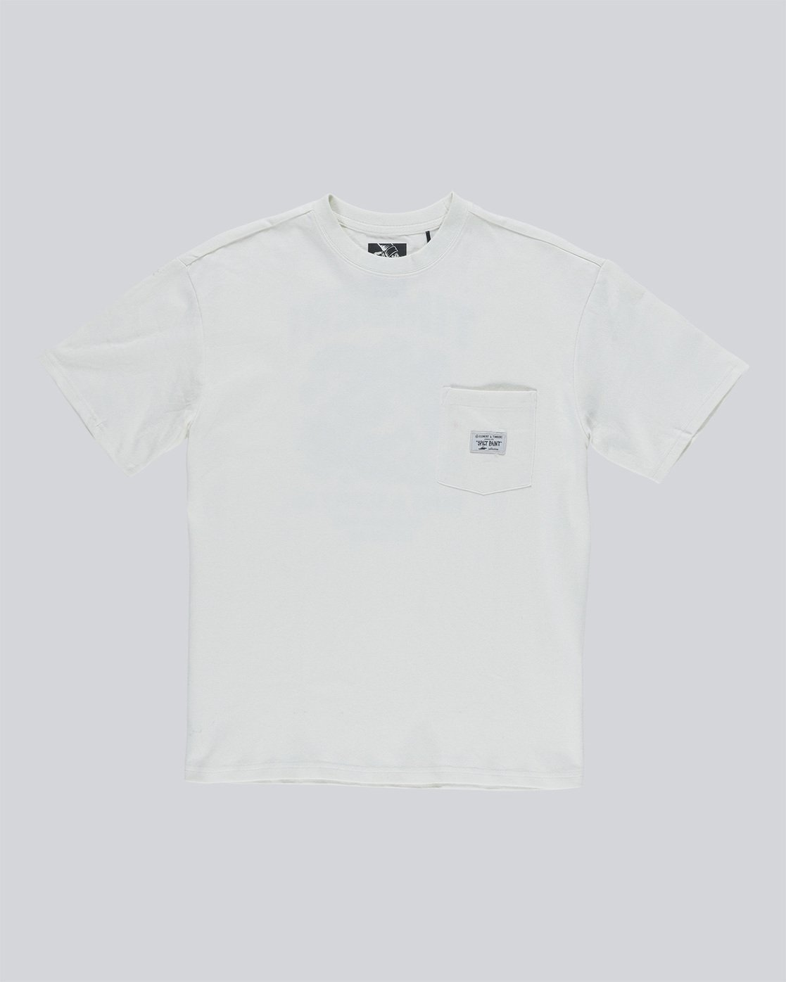 4 Timber Heavy Ss Tee - Knit for Men White N1KTC5ELP9 Element