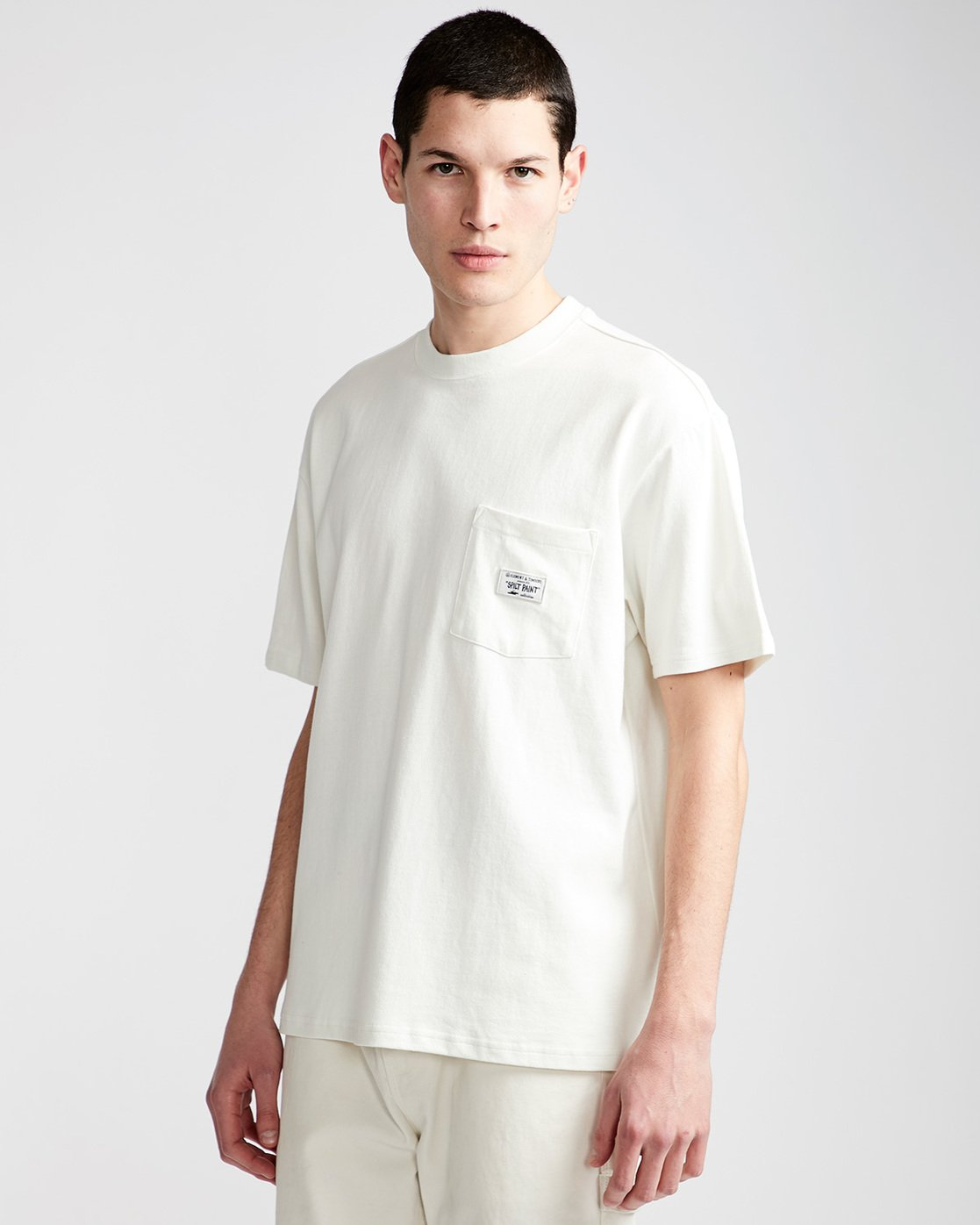 0 Timber Heavy Ss Tee - Knit for Men White N1KTC5ELP9 Element