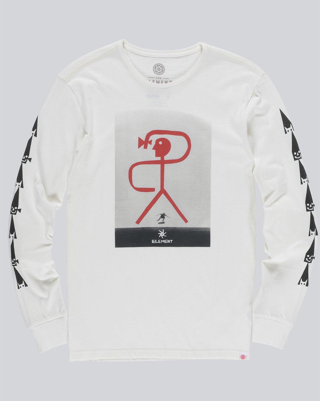 4 Brasilia Ls - Tee Shirt for Men  N1LSA1ELP9 Element