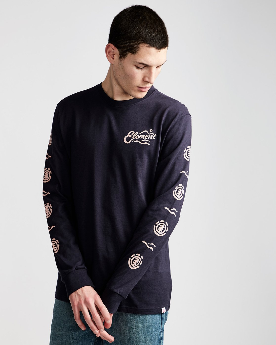 0 Valley Ls - Tee Shirt for Men  N1LSA3ELP9 Element
