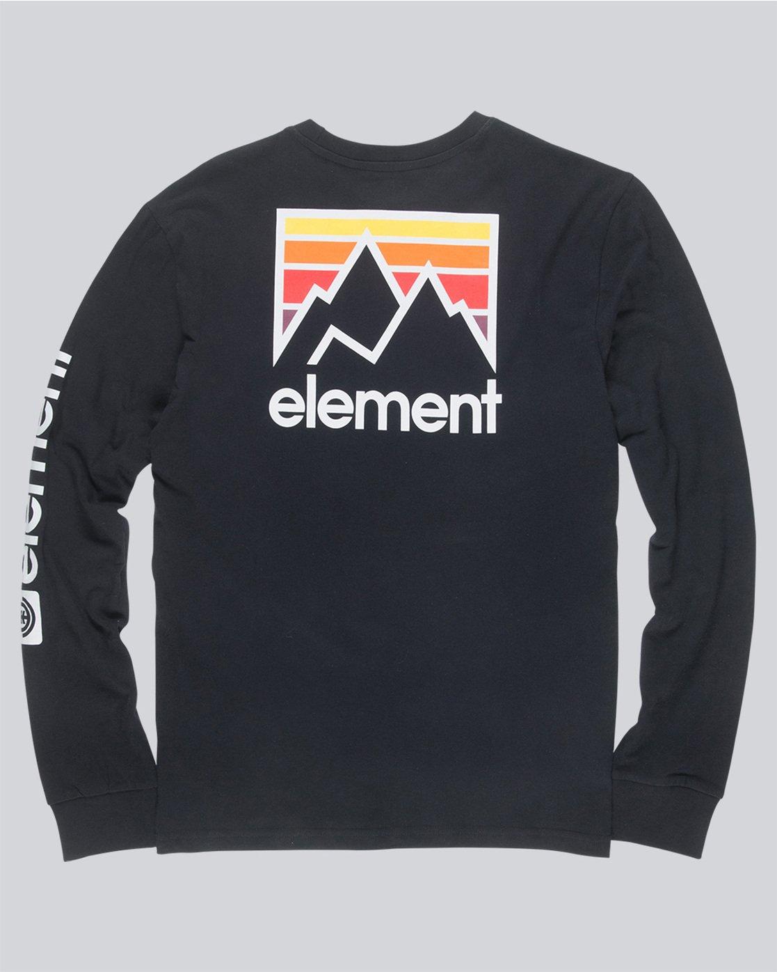 4 Joint Ls - Tee Shirt for Men Black N1LSA4ELP9 Element