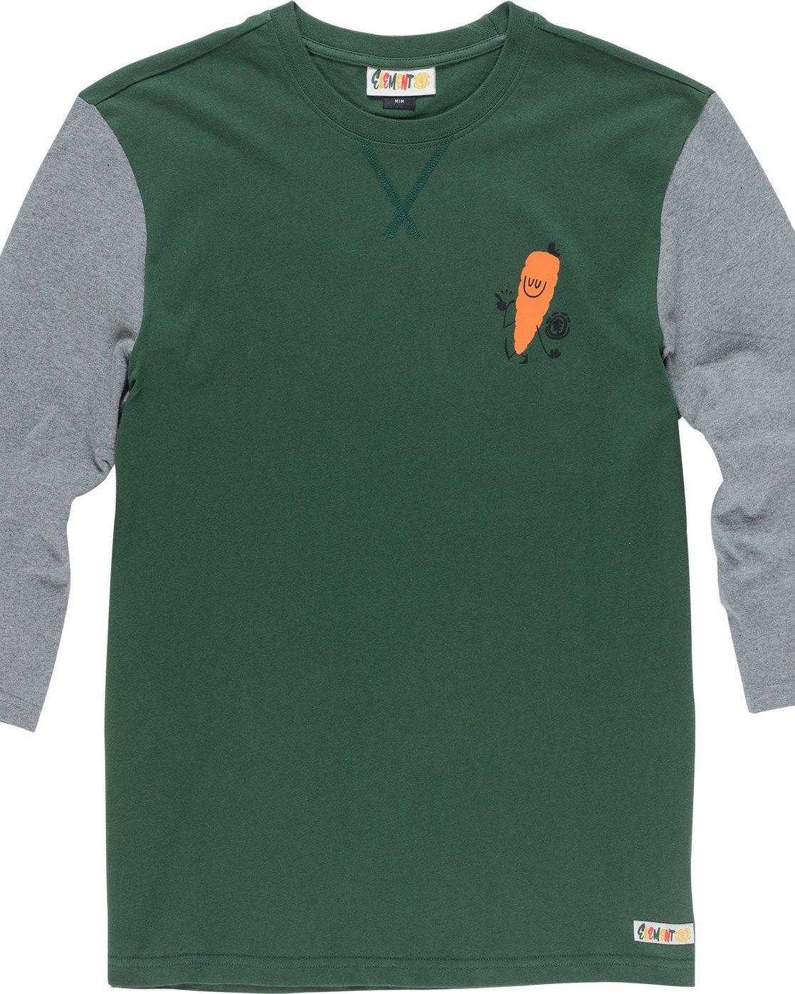 4 Yawyd Healthy 3/4 Te - Tee Shirt for Men Green N1LSA6ELP9 Element