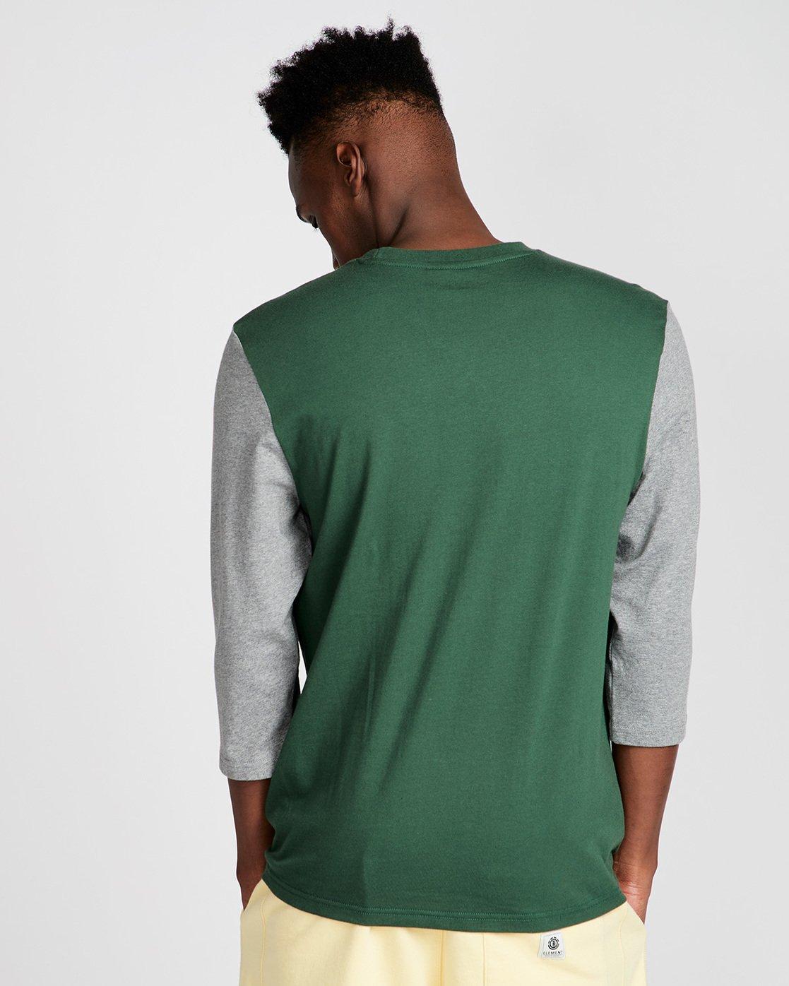 2 Yawyd Healthy 3/4 Te - Tee Shirt for Men Green N1LSA6ELP9 Element