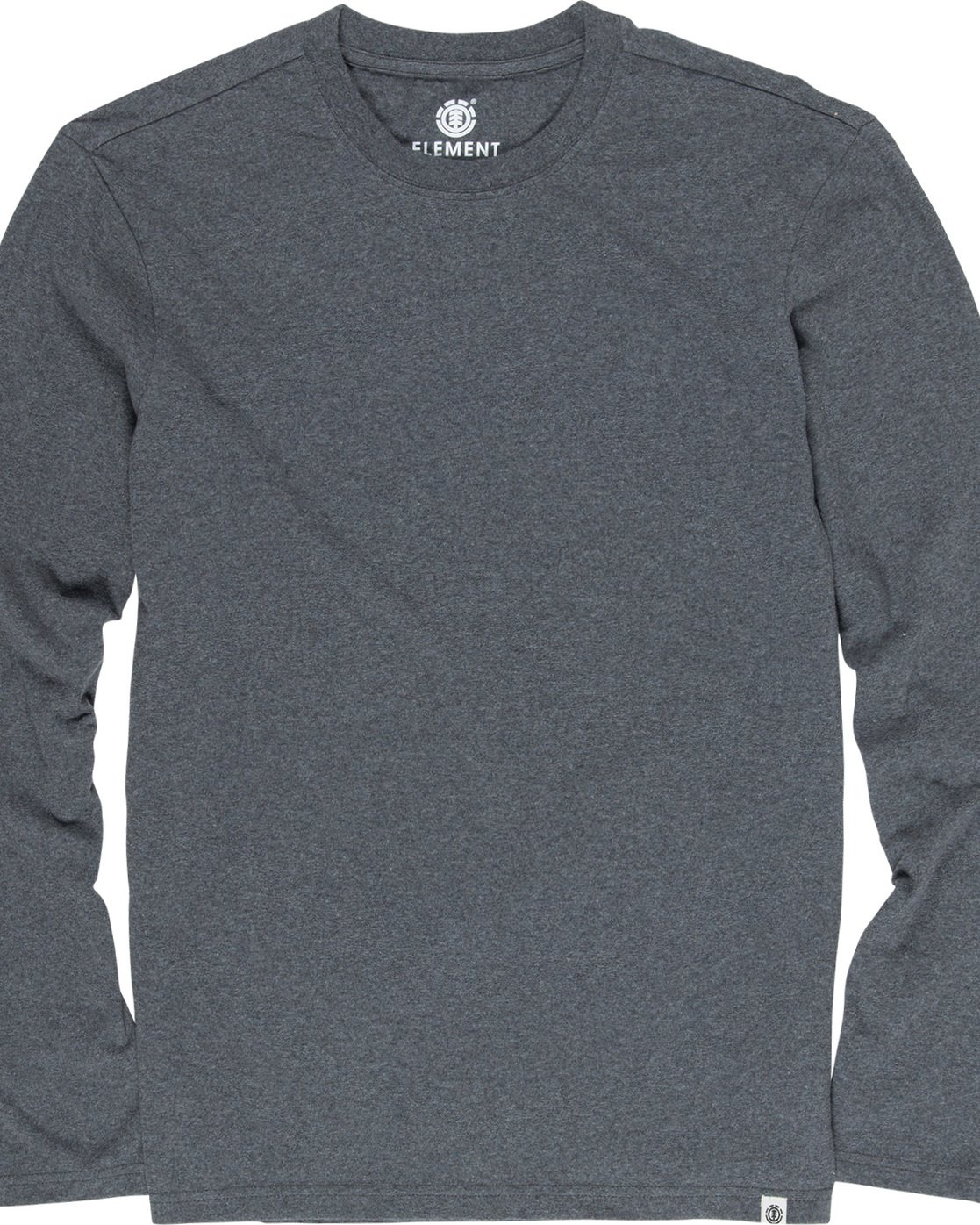 1 Basic Crew - Long Sleeve T-Shirt Grey N1LSA9ELP9 Element