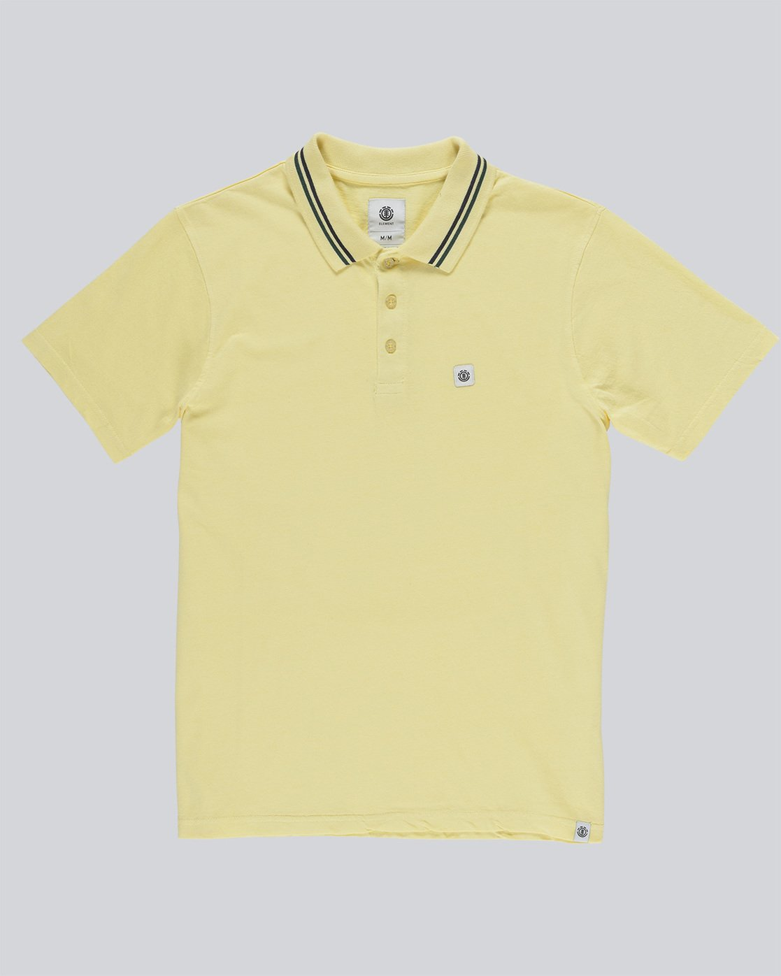 3 Pasco - Polo for Men Jaune N1PPA1ELP9 Element