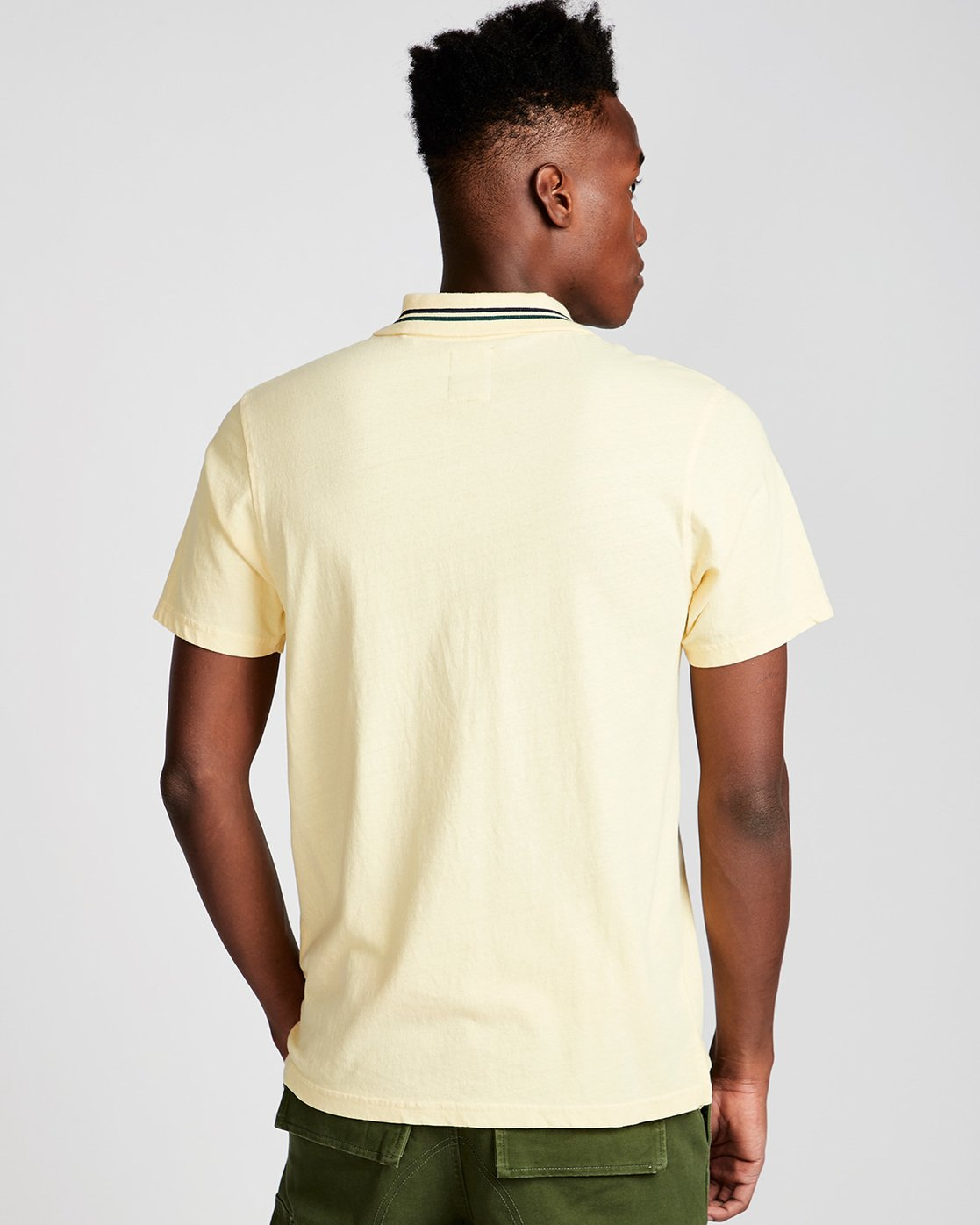 2 Pasco - Polo for Men Jaune N1PPA1ELP9 Element