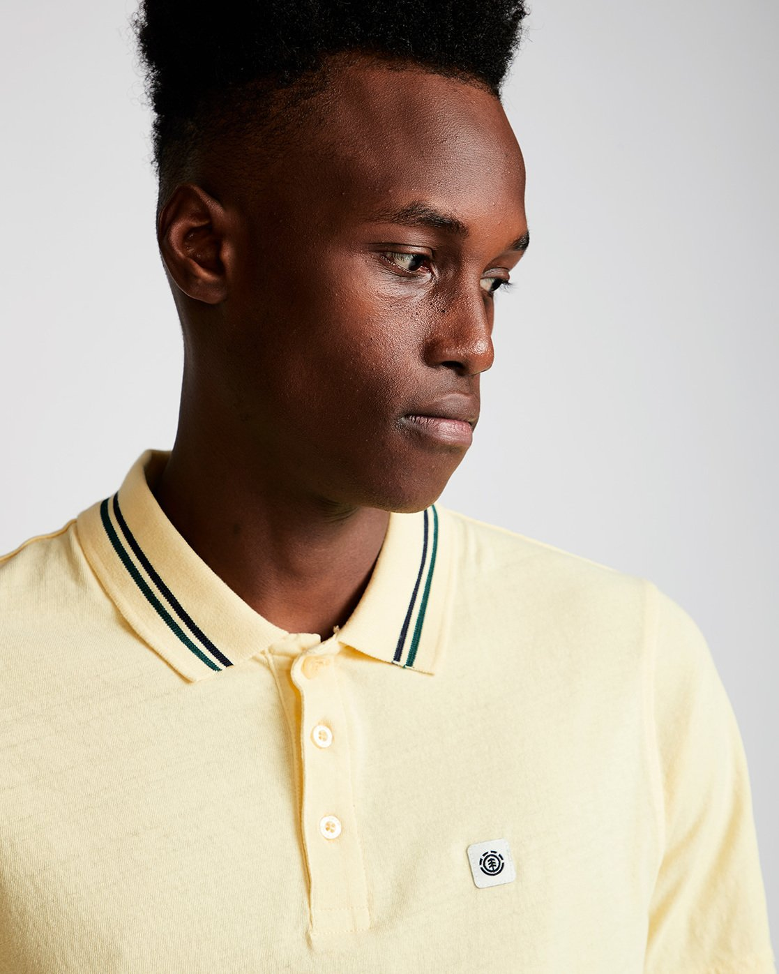1 Pasco - Polo for Men Jaune N1PPA1ELP9 Element