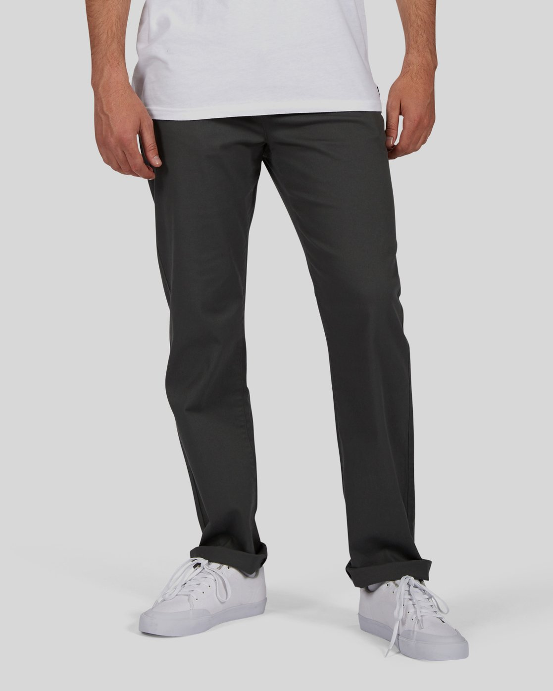 0 Sawyer - Trousers for Men Grey N1PTA8ELP9 Element