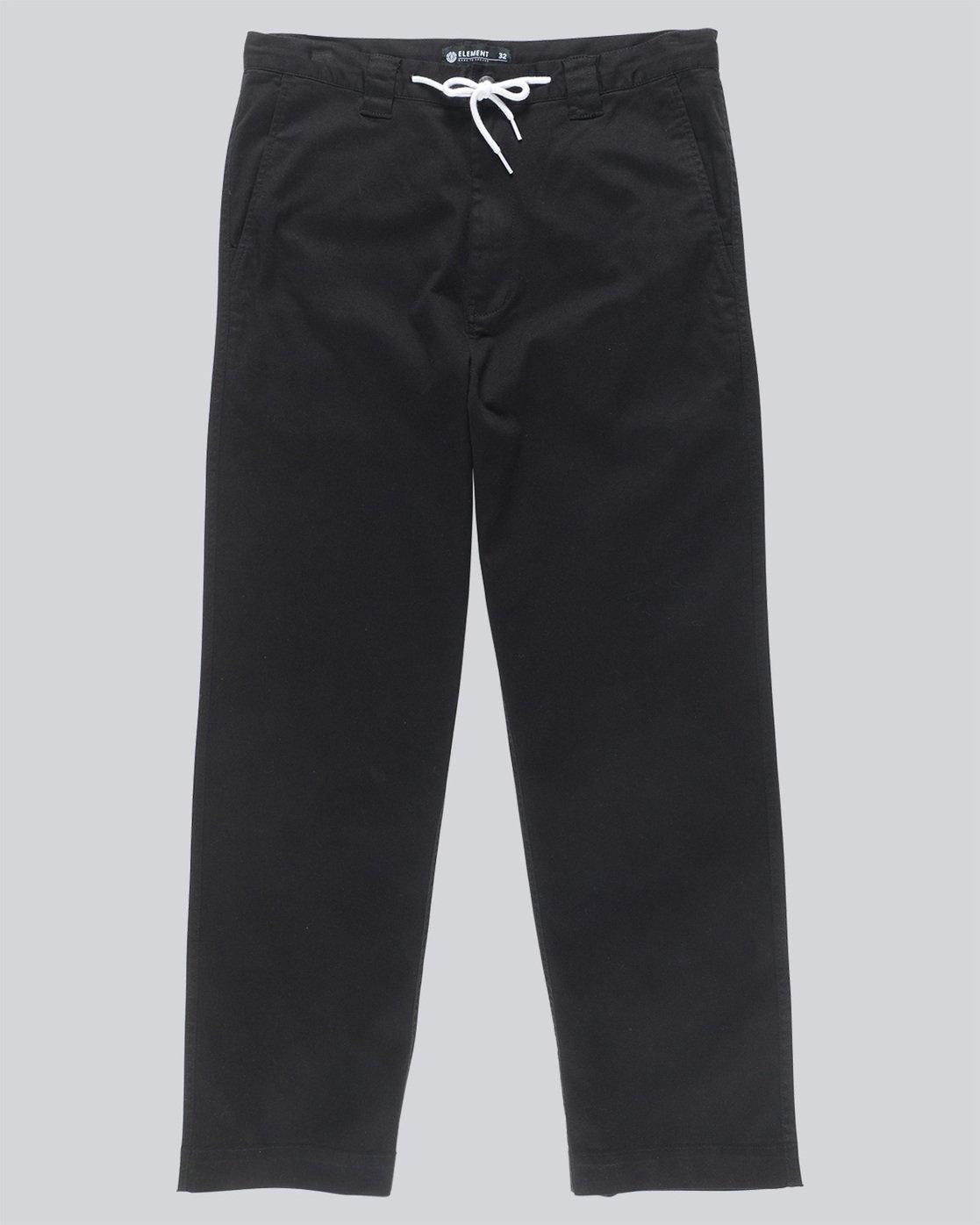 4 Matthews Chino - trousers for Men Black N1PTA9ELP9 Element