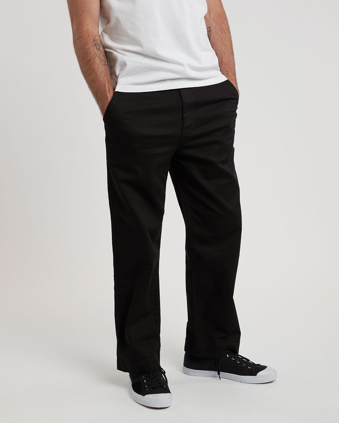 1 Matthews Chino - trousers for Men Black N1PTA9ELP9 Element