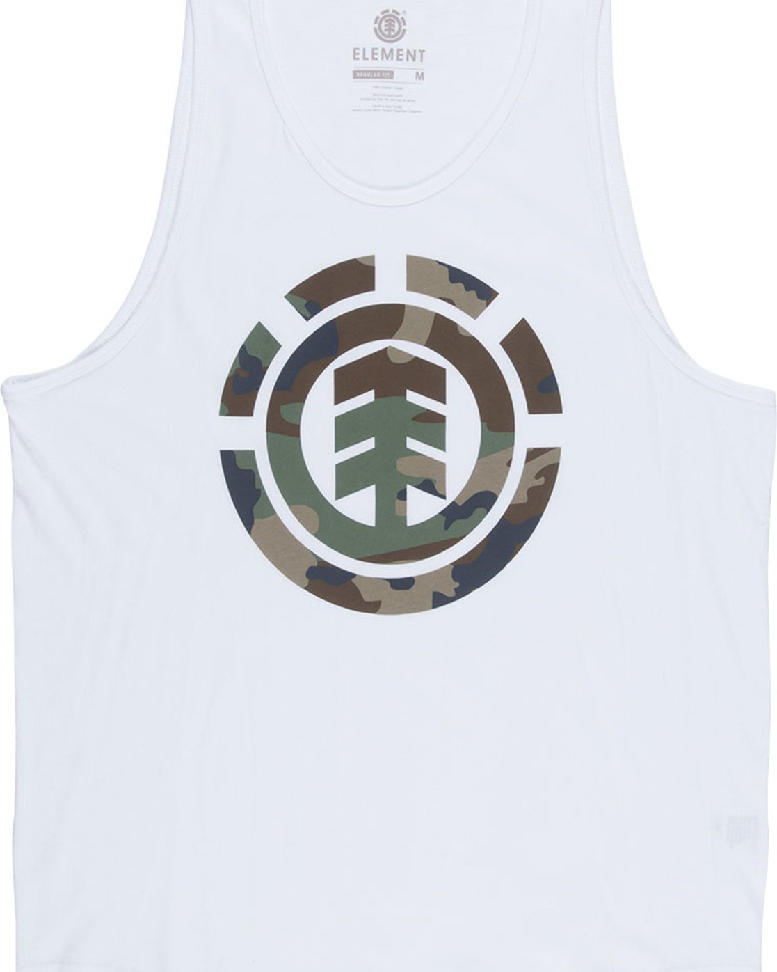 4 Foundation Icon Tank - Tee Shirt for Men White N1SGA1ELP9 Element