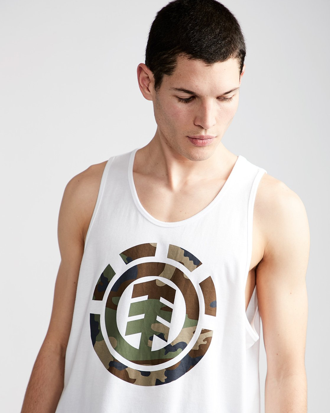 1 Foundation Icon Tank - Tee Shirt for Men White N1SGA1ELP9 Element
