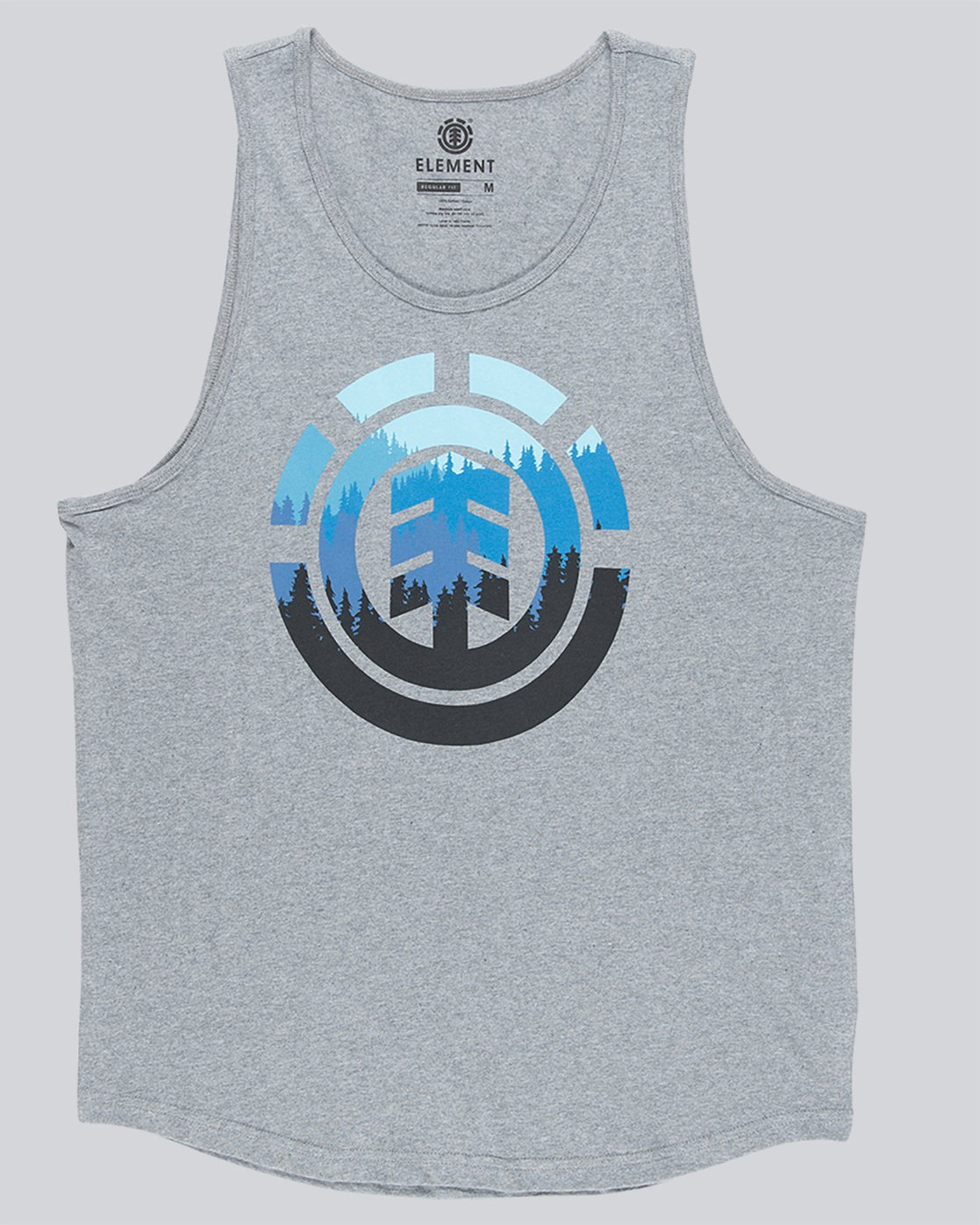 3 Glimpse Icon Tank - Tee Shirt for Men Grey N1SGA2ELP9 Element