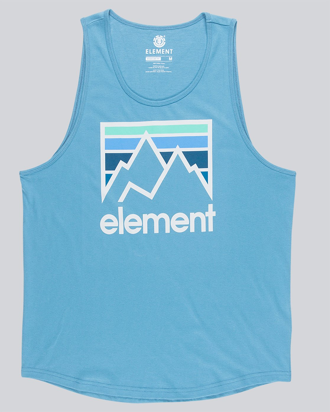 3 Joint Tank - Tee Shirt for Men Blue N1SGA5ELP9 Element