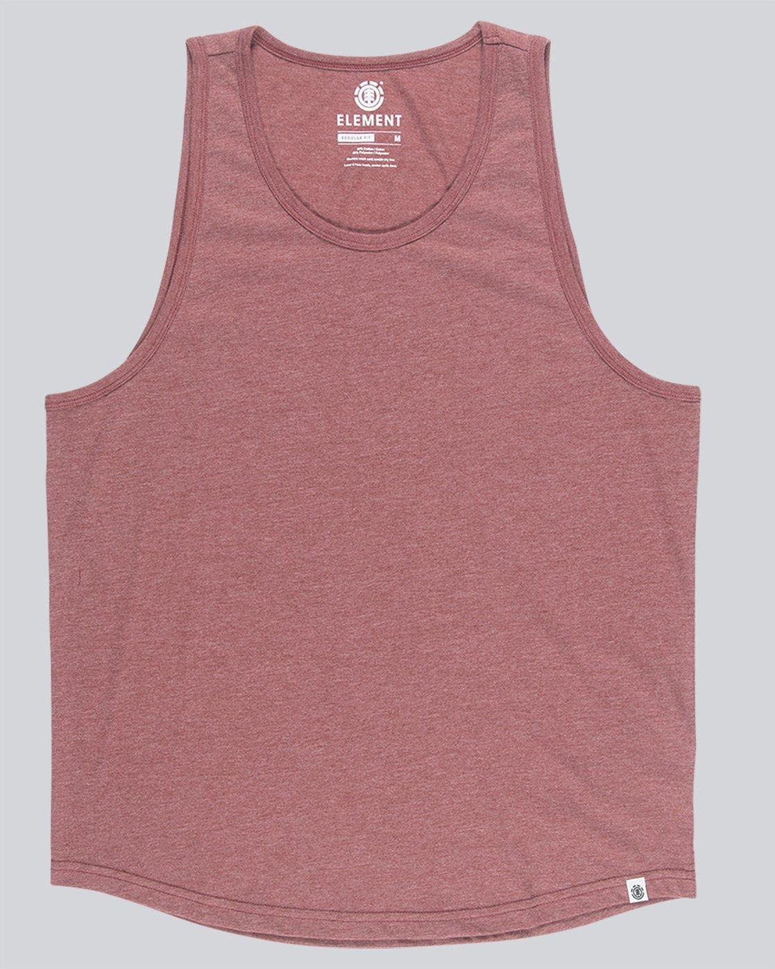 3 Basic - Vest for Men Red N1SGA6ELP9 Element