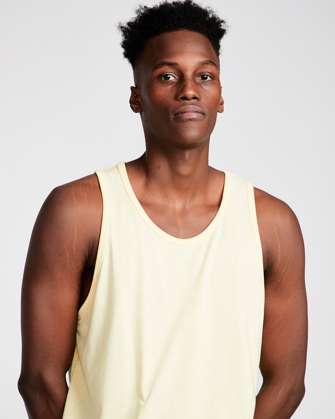 1 Basic - Vest for Men Yellow N1SGA6ELP9 Element