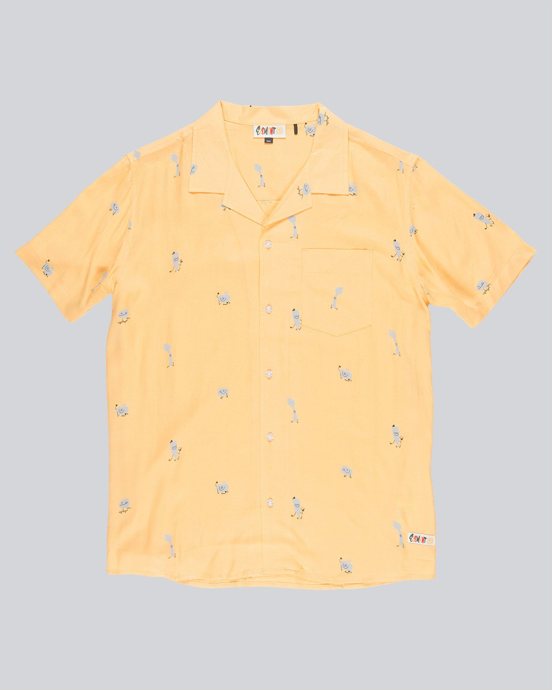 3 Yawyd Ss - Shirt for Men Yellow N1SHA6ELP9 Element