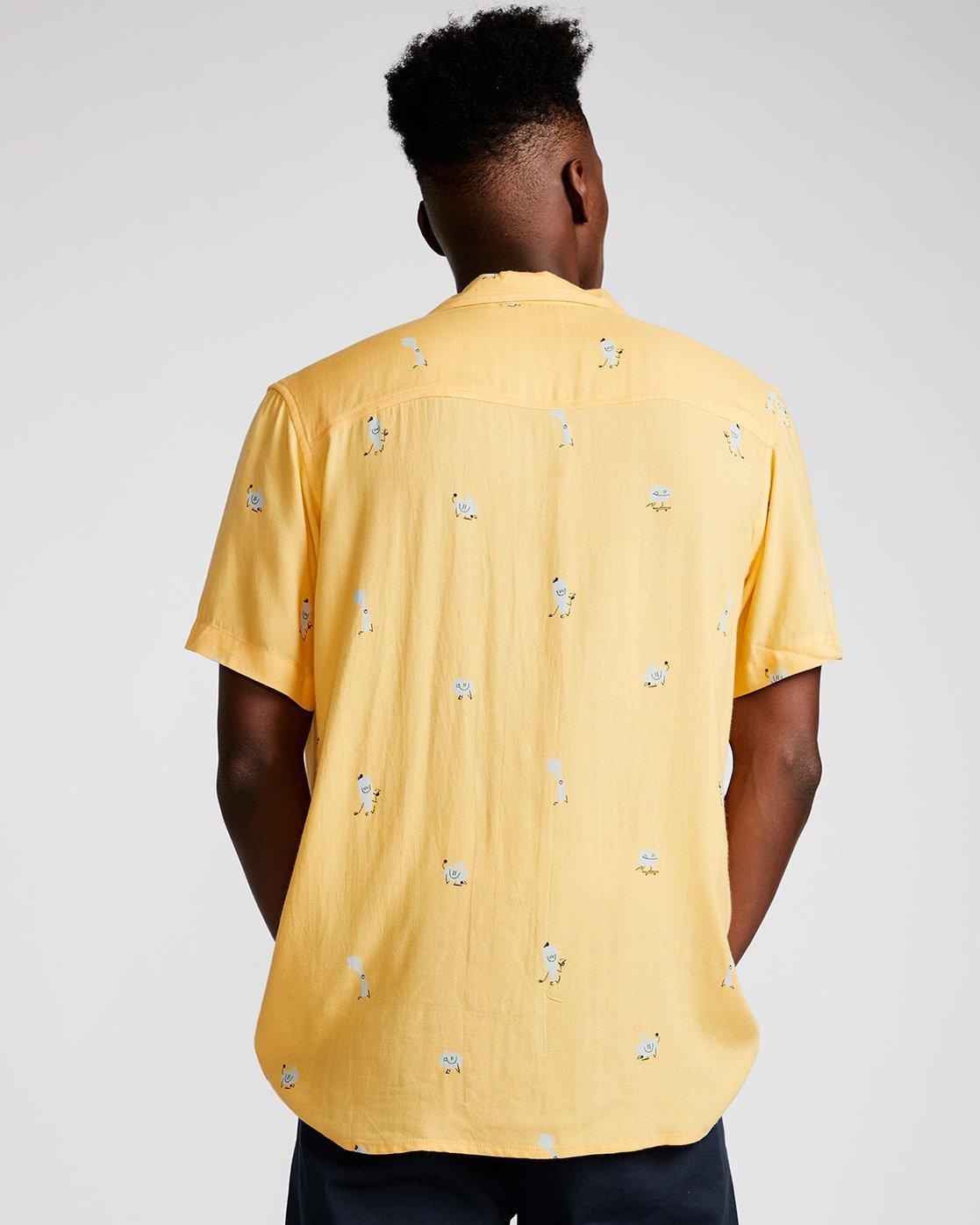 2 Yawyd Ss - Shirt for Men Yellow N1SHA6ELP9 Element