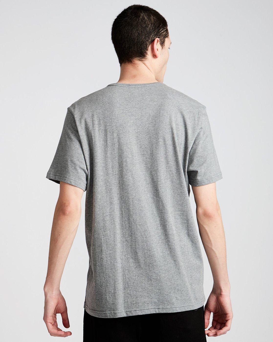 2 Hoot Ss - Tee Shirt for Men Grey N1SSA1ELP9 Element