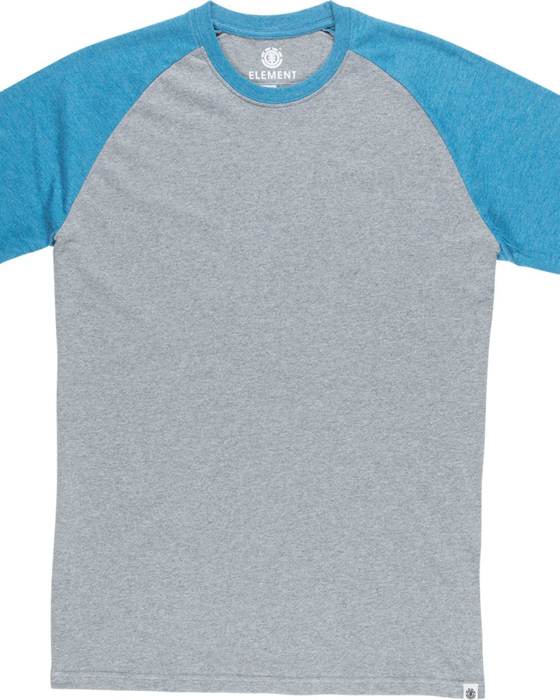 4 Basic Raglan Ss - Tee Shirt for Men Blue N1SSA2ELP9 Element
