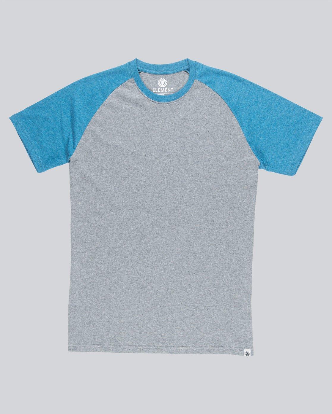 3 Basic Raglan Ss - Tee Shirt for Men Blue N1SSA2ELP9 Element