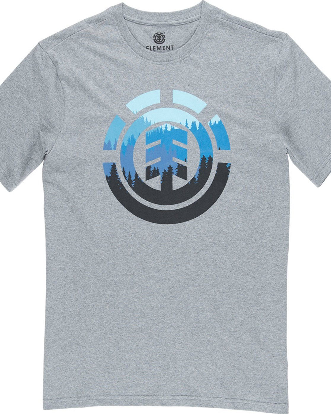 4 Glimpse Icon Ss - Tee Shirt for Men Grey N1SSA4ELP9 Element