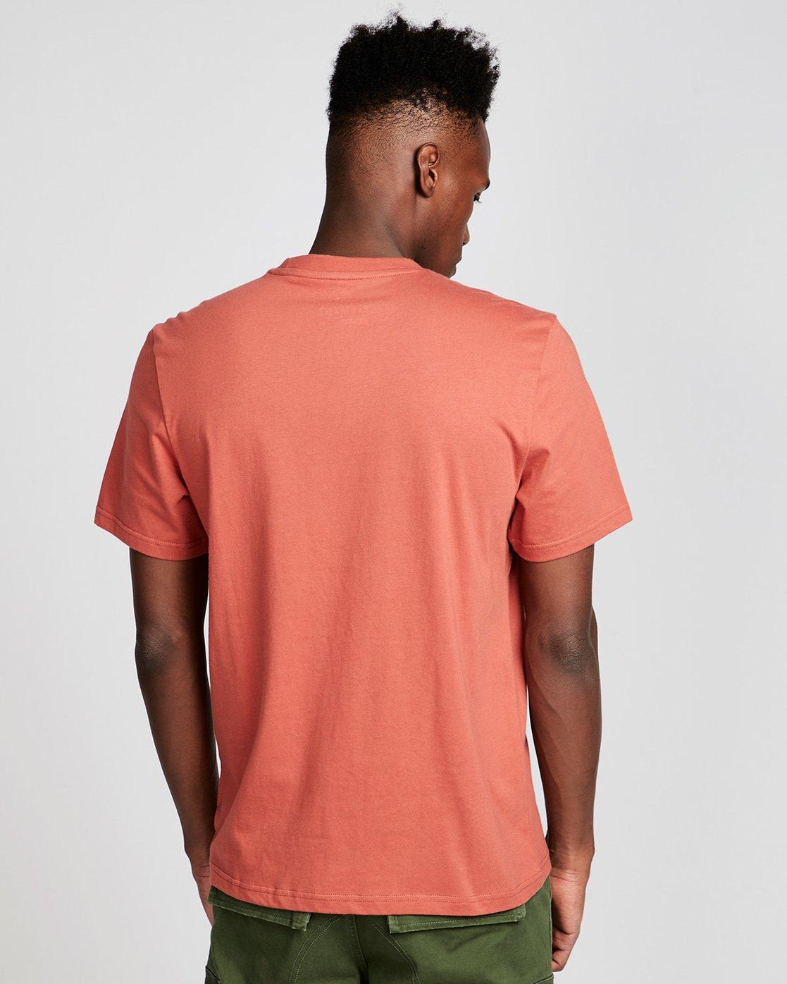 2 Density Ss - Tee Shirt for Men Red N1SSA8ELP9 Element