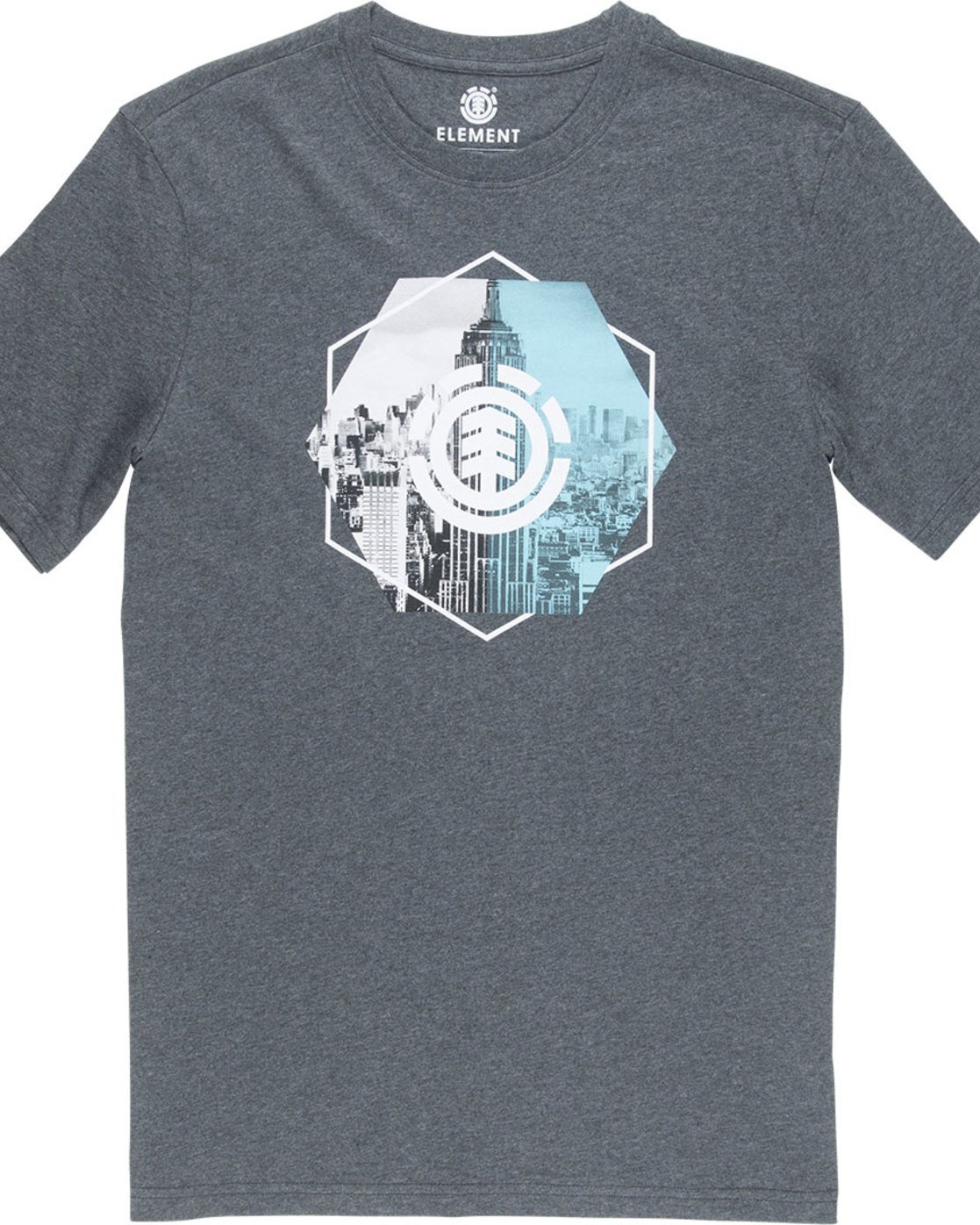 4 Rotation Ss - Tee Shirt for Men Grey N1SSA9ELP9 Element