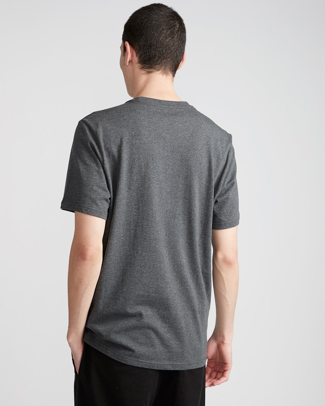2 Rotation Ss - Tee Shirt for Men Grey N1SSA9ELP9 Element