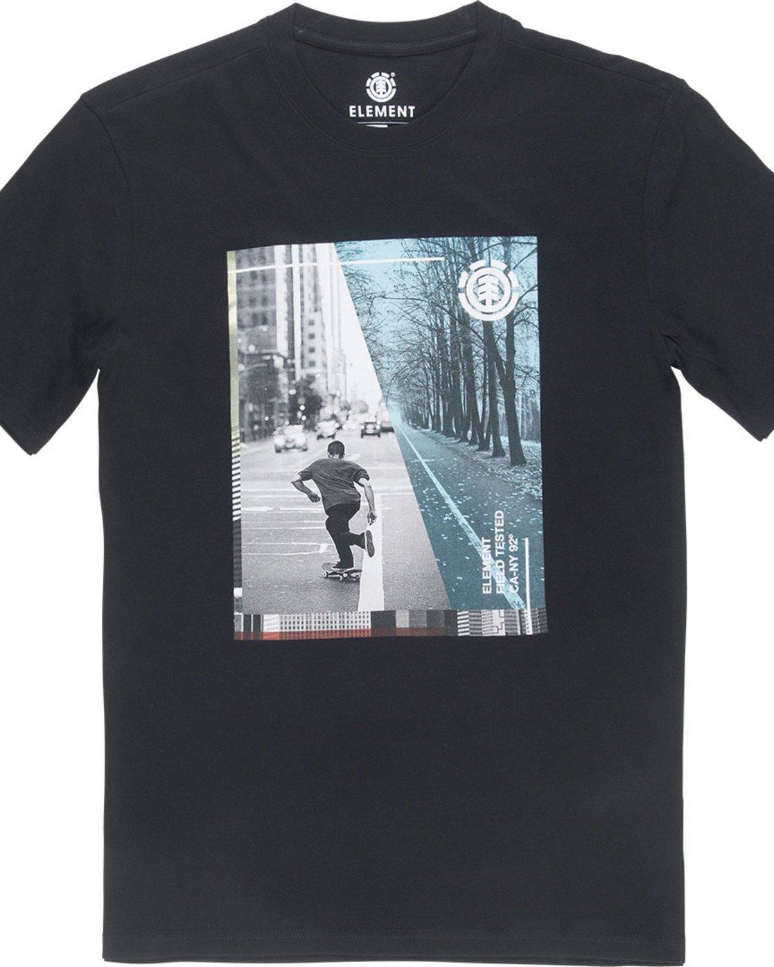 4 Avenue Ss - Tee Shirt for Men Black N1SSB1ELP9 Element