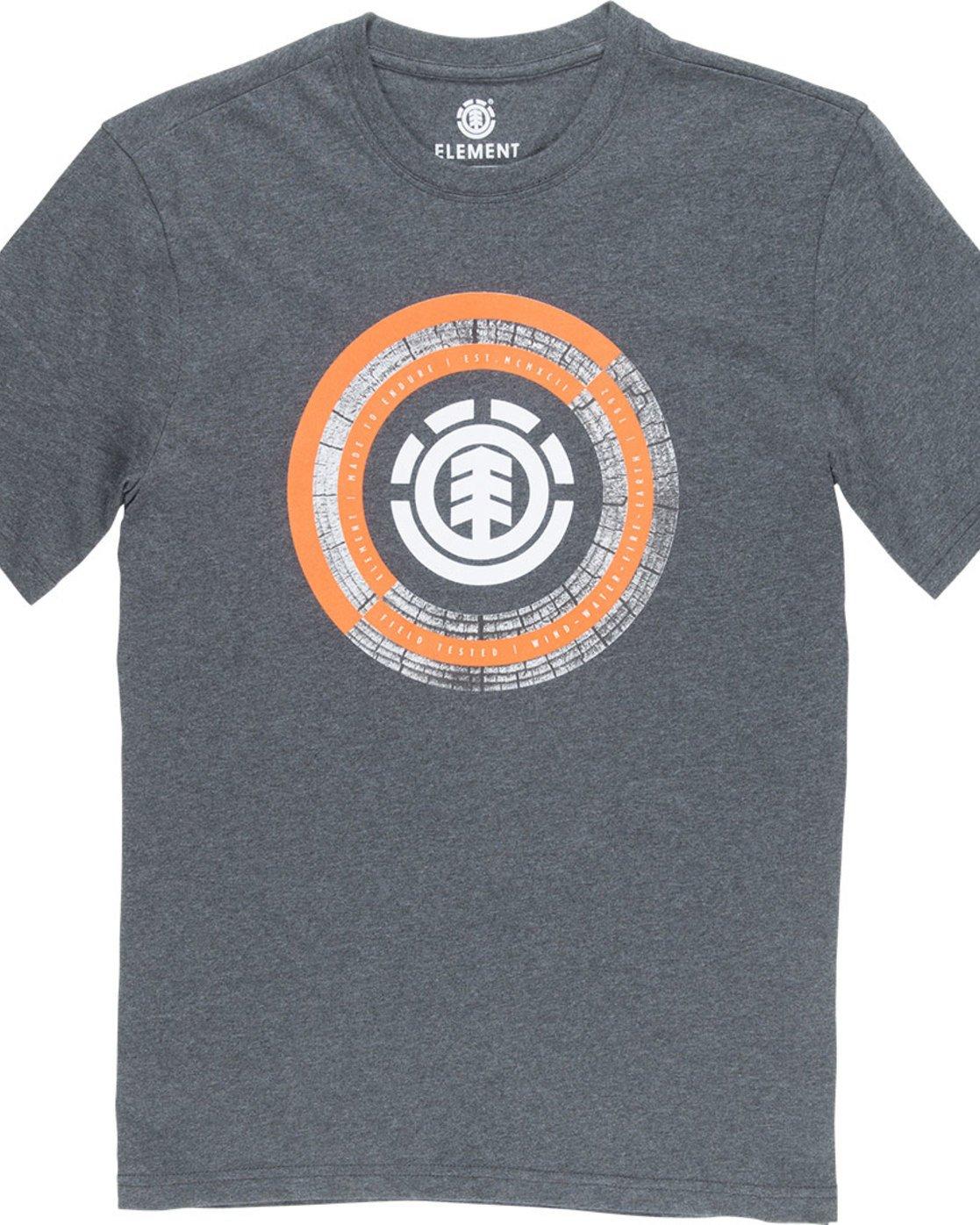 4 Iris Ss - Tee Shirt for Men Grey N1SSB2ELP9 Element