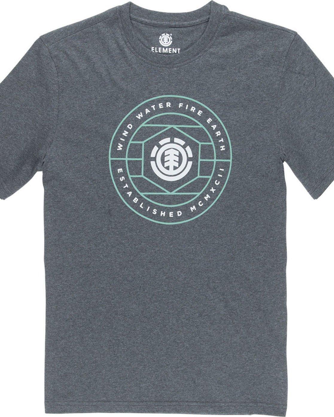 4 Swivel Ss - Tee Shirt for Men Grey N1SSB3ELP9 Element