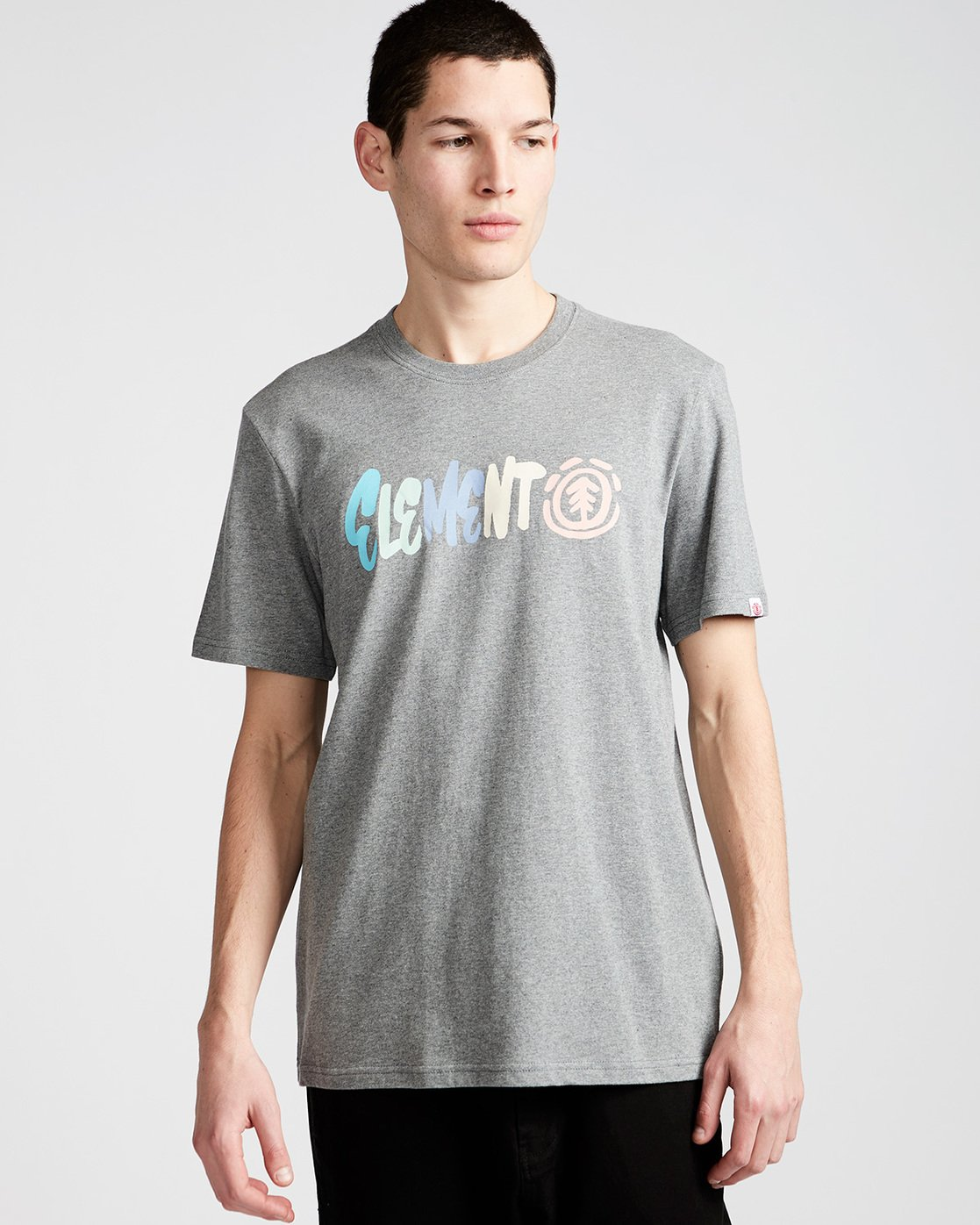 0 Chimp Ss - Tee Shirt for Men Grey N1SSC4ELP9 Element