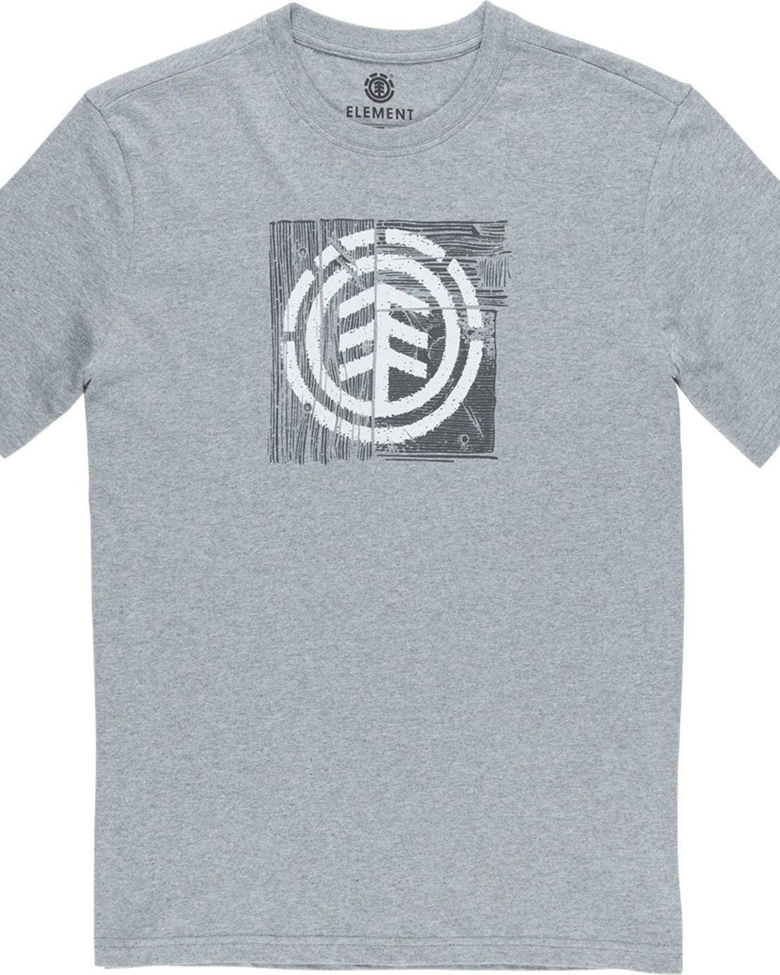 4 Driftwood Ss - Tee Shirt for Men Grey N1SSC5ELP9 Element