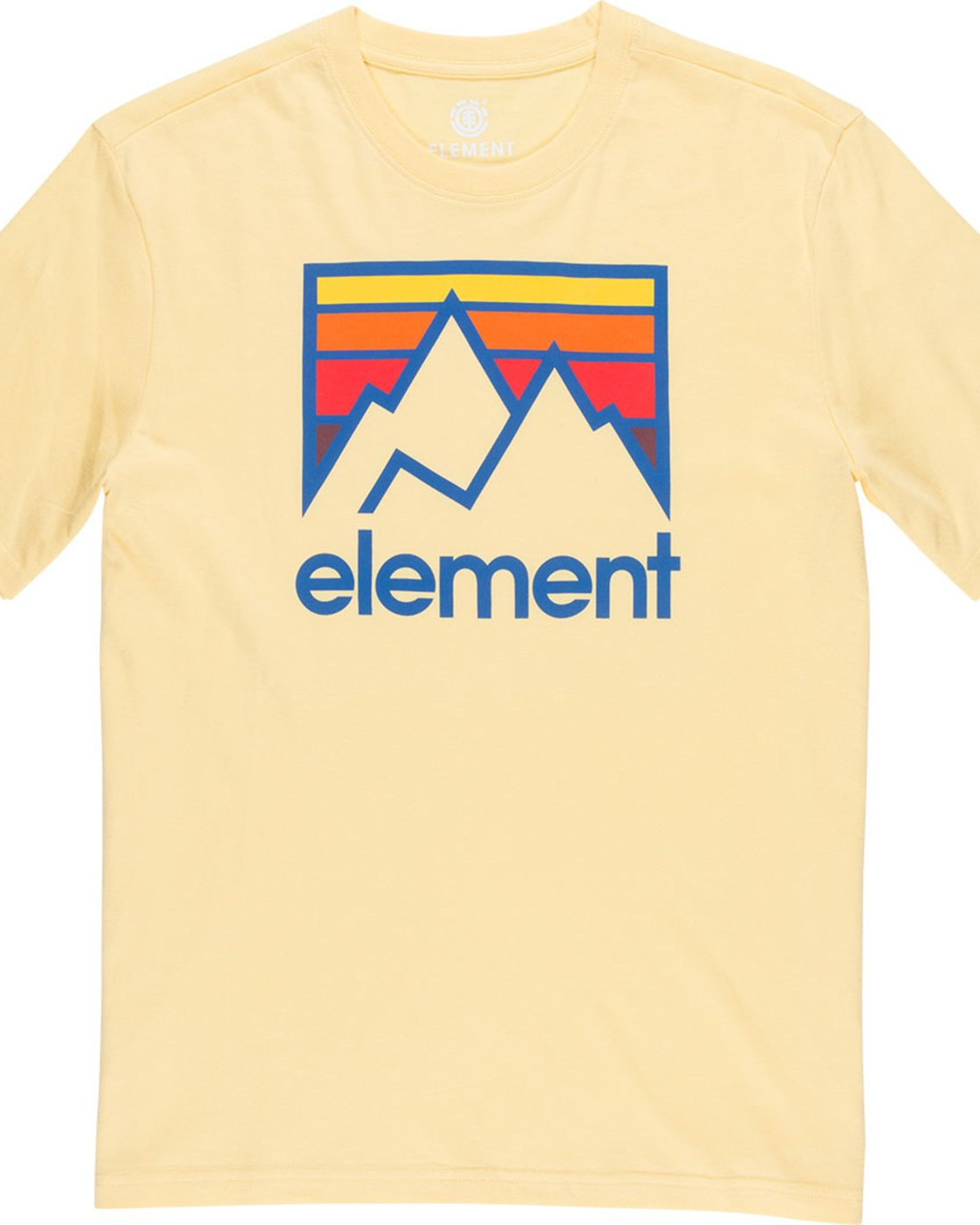 4 Link Ss - Tee Shirt for Men Yellow N1SSC7ELP9 Element