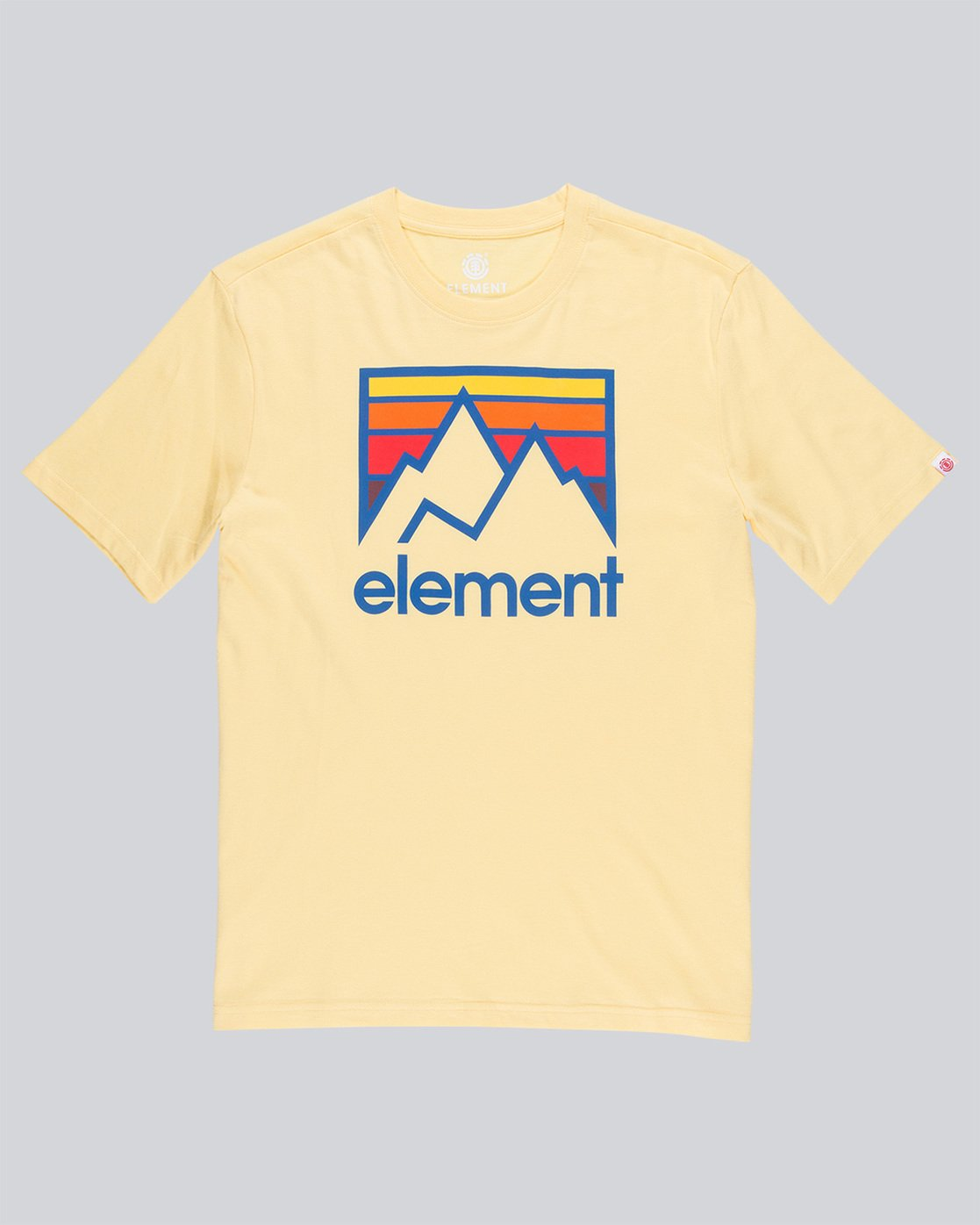 3 Link Ss - Tee Shirt for Men Yellow N1SSC7ELP9 Element
