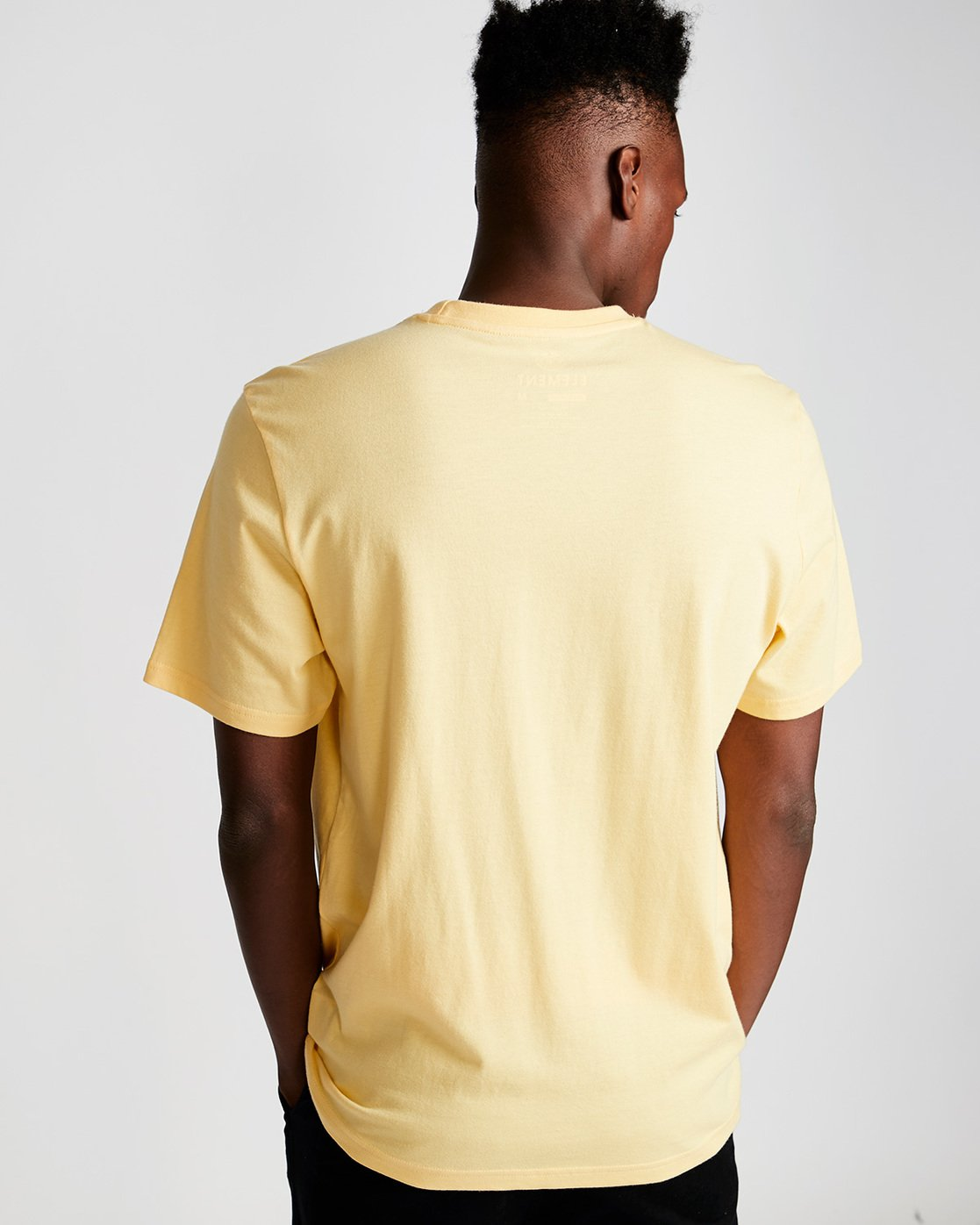 2 Link Ss - Tee Shirt for Men Yellow N1SSC7ELP9 Element