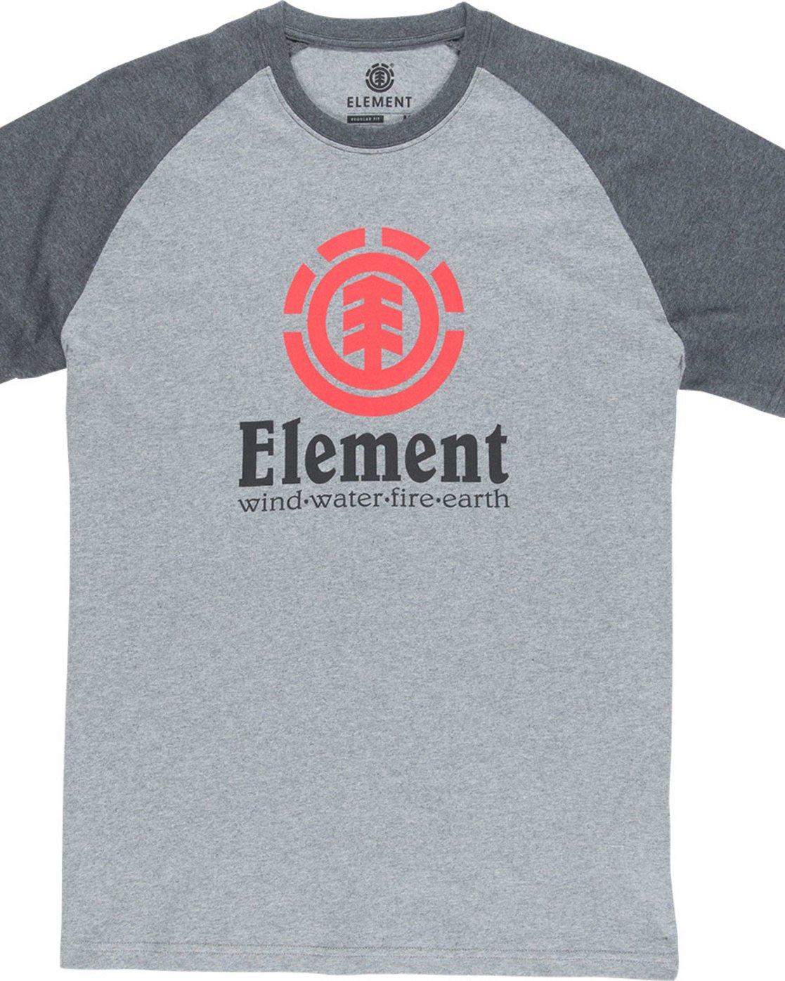 Element Childrens Vertical Raglan Boy Tee Shirt