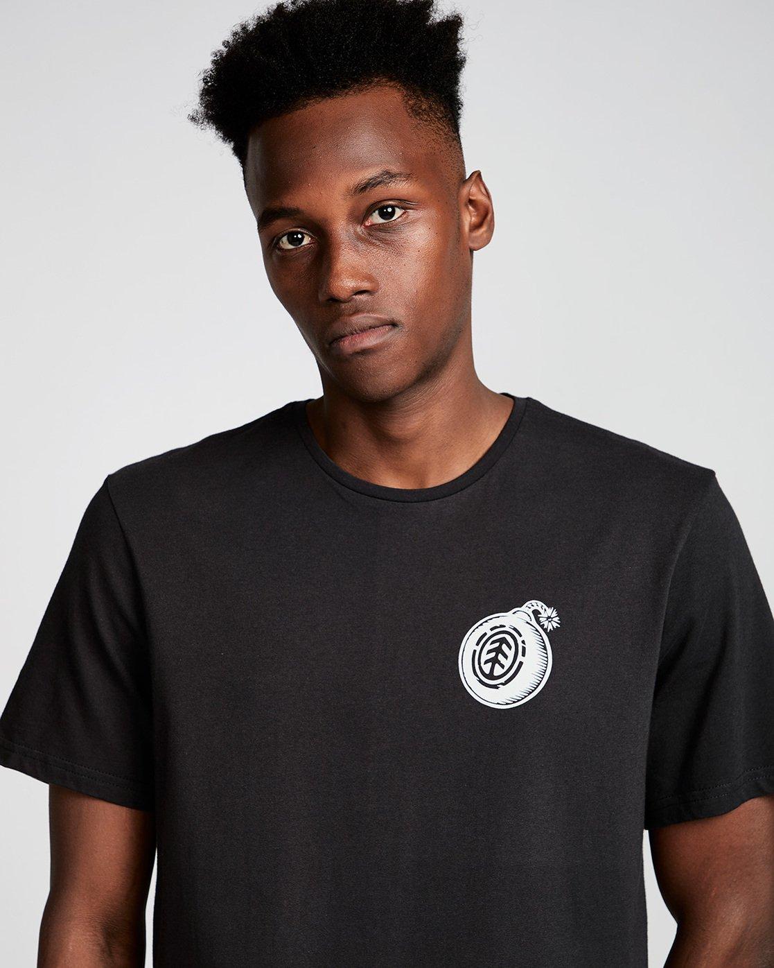 1 Blast Ss - Tee Shirt for Men Black N1SSC9ELP9 Element
