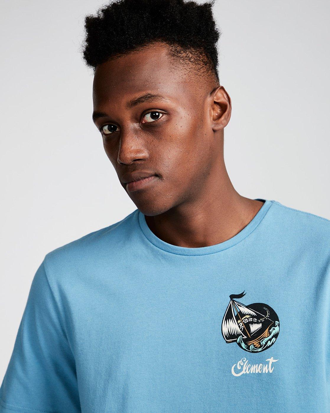 1 Craken Ss - Tee Shirt for Men Blue N1SSD4ELP9 Element