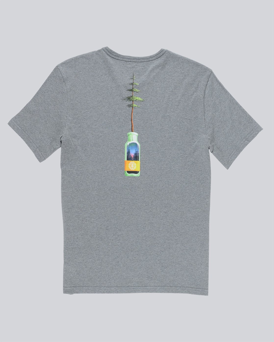 5 Jar Ss - Tee Shirt for Men Grey N1SSD7ELP9 Element