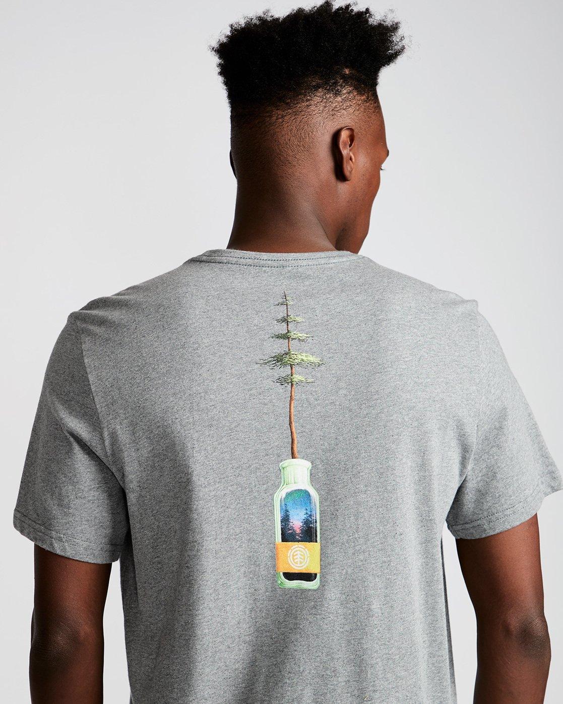 3 Jar Ss - Tee Shirt for Men Grey N1SSD7ELP9 Element