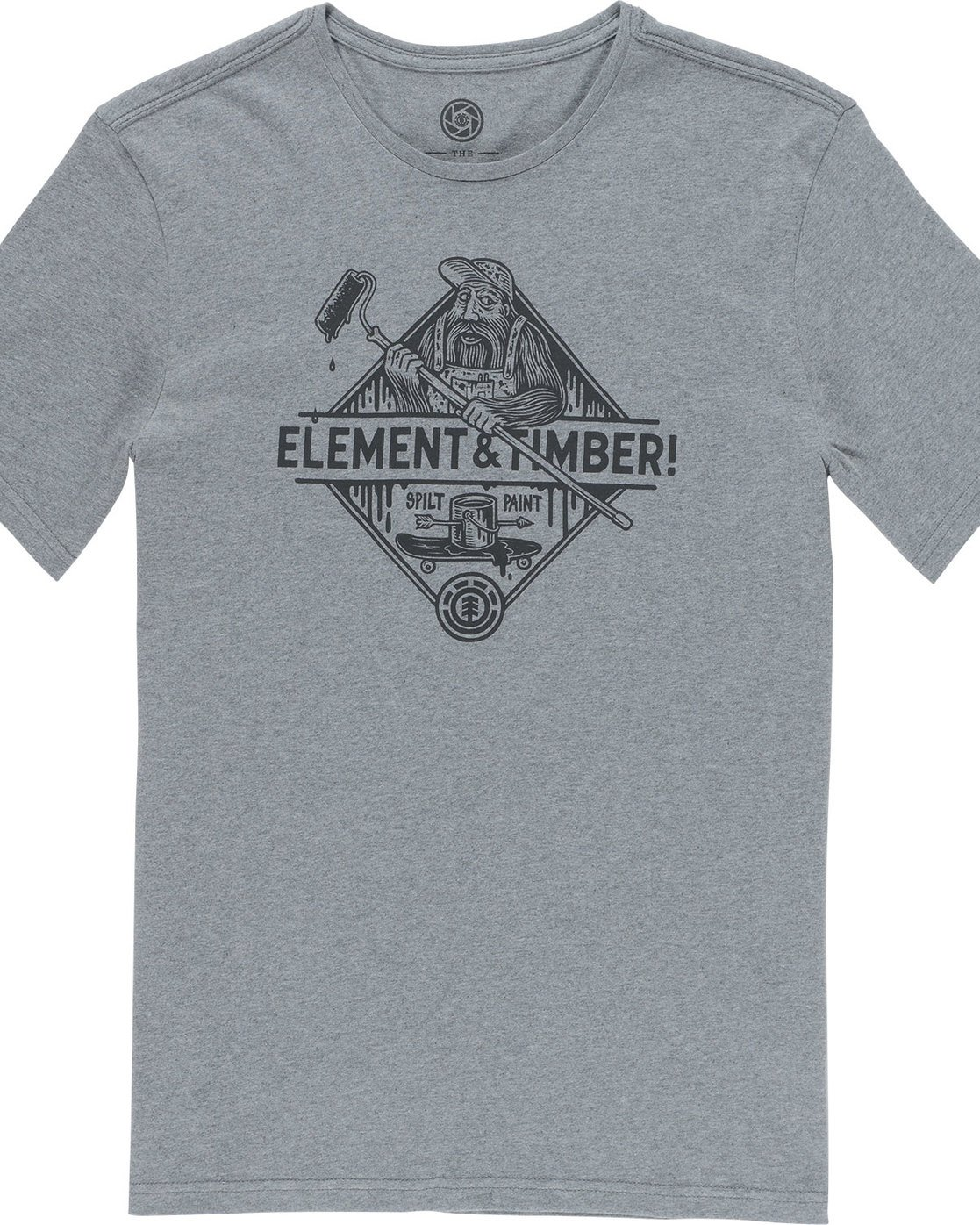 4 Rolling Ss - Tee Shirt for Men Grey N1SSD9ELP9 Element