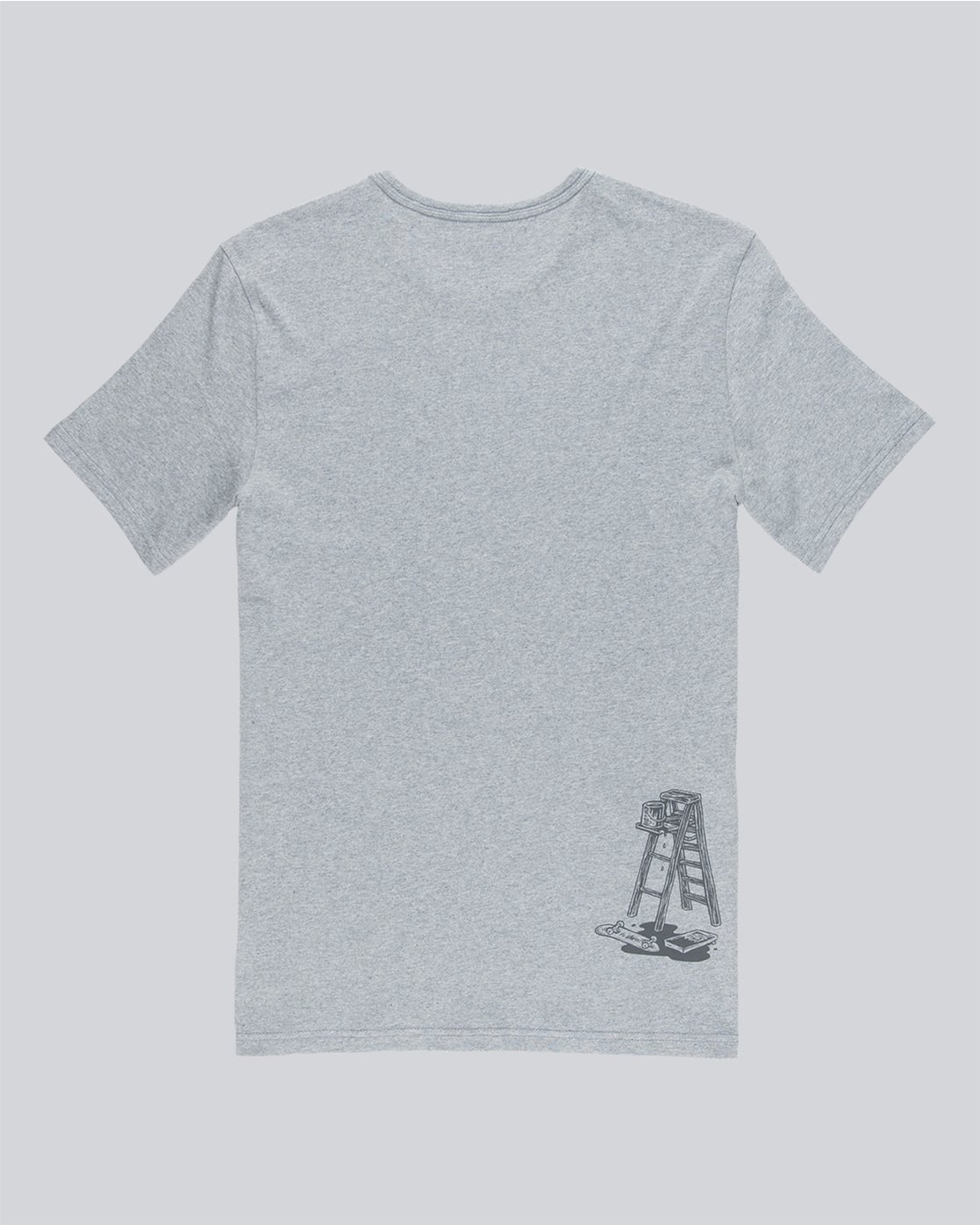 4 Spilt Ss - Tee Shirt for Men Grey N1SSE1ELP9 Element