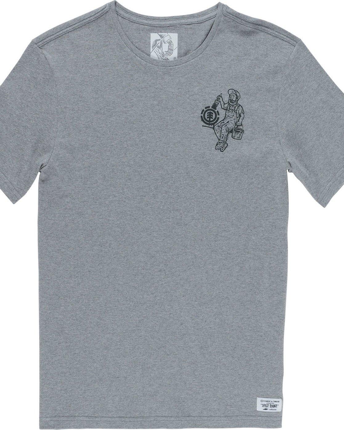 6 Crew Ss - Tee Shirt for Men Grey N1SSE2ELP9 Element